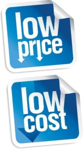 low price low cost