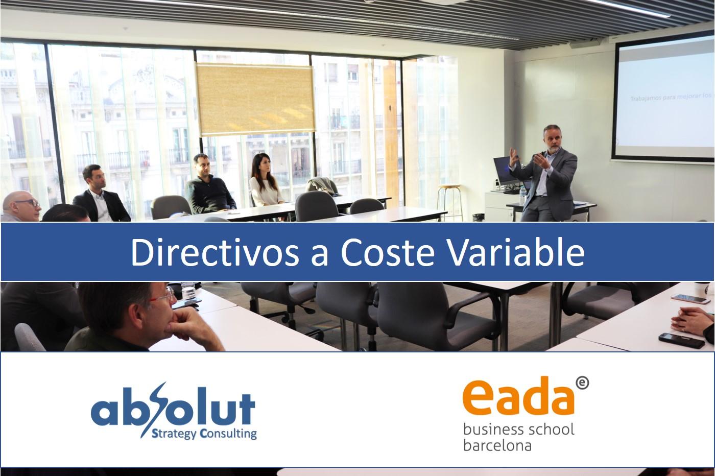 Evento Directivos a Coste Variable en EADA-Barcelona