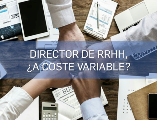 Director de Recursos Humanos, ¿a Coste Variable?